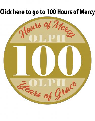 100 hours of mercy logo